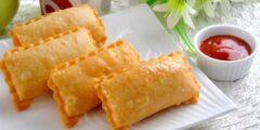 طريقة عمل البرك التركي بالجبن