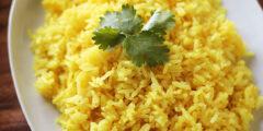طريقة عمل الرز البسمتي زي المطاعم