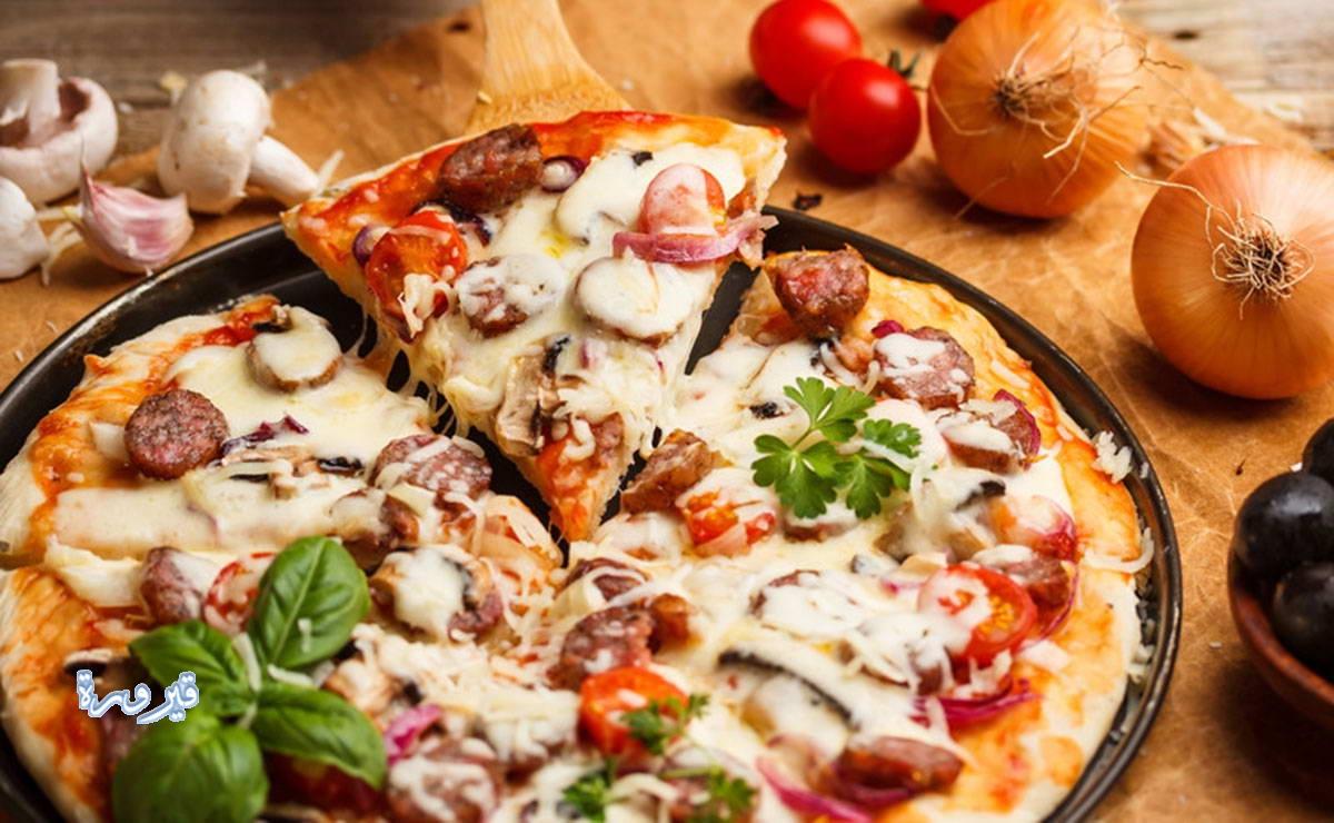 طريقة عمل البيتزا هت