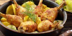 طريقة عمل صينية بطاطس بالدجاج
