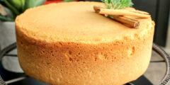 طريقة عمل الكيكة الاسفنجيه للتورته