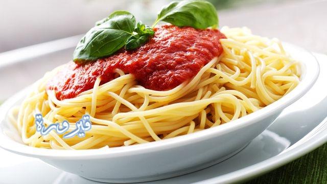 طريقة عمل صلصة المكرونة الايطالية