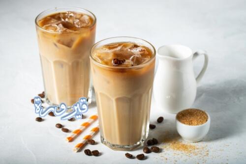 طريقة عمل القهوة الباردة